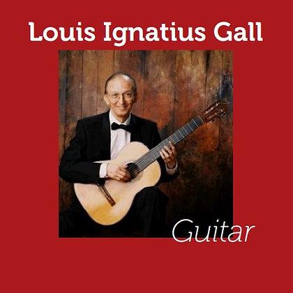 CD: Louis Ignatius Gall - Guitar