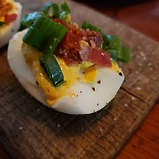 Texana Deviled Eggs (6)