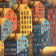 Kullankeltaisten kattojen kaupunki, 2019, MYYTY