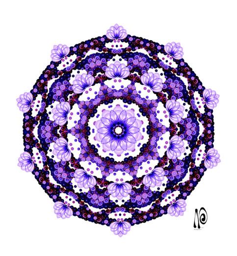 DNA Buddha Flower