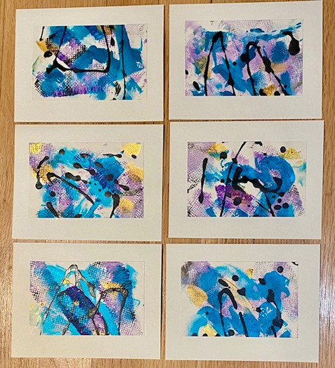Abstract Greeting Cards 2