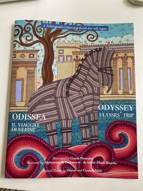 A bilingual Coloring book