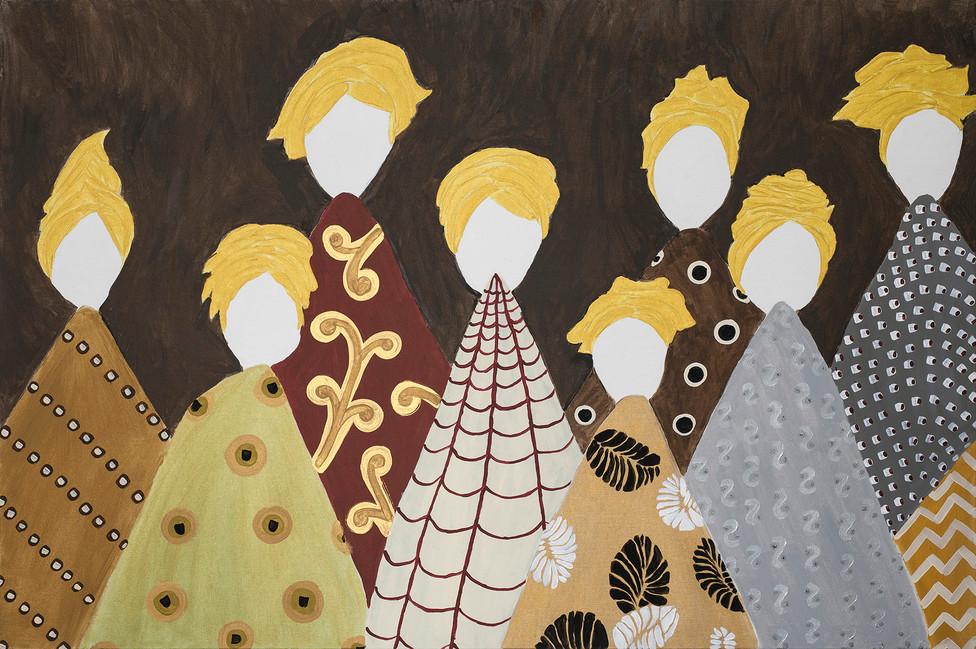 Donne Vulcano Giallo