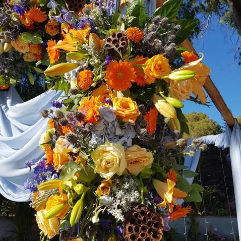 פרחים לחופה