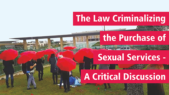 The Law Criminalizing the Purchase of Sexual Services – a Critical Discussion Picture: Backs of