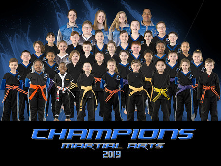 Champions Martial Arts Group Photo