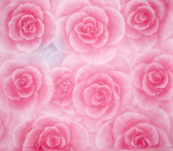 23) Pink Roses