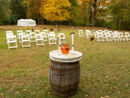 Outdoor Heavenly Weddings