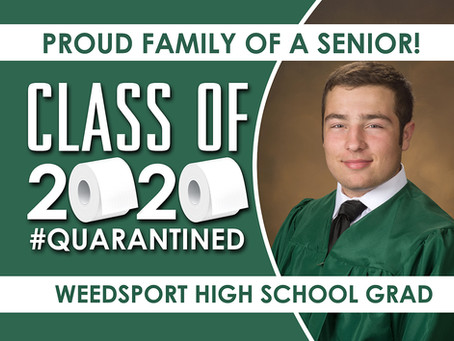 2020 Graduation Yard Signs