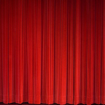 20) Red Curtain