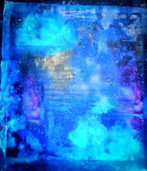 12) Blue Abtract