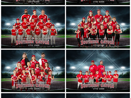 Southern Cayuga Little League Team Photos