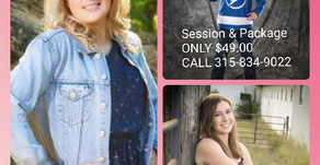Summer Special Senior Portraits