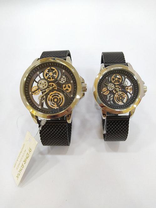Çift Saati Çelik Hasır Kordon