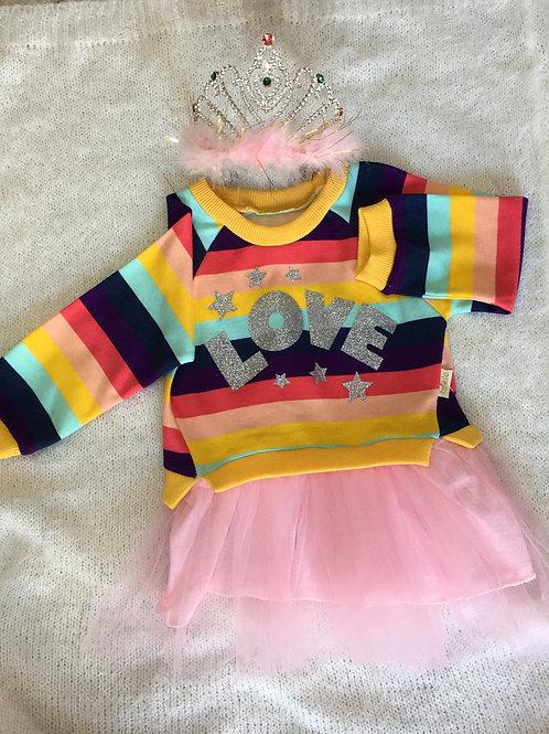 Tütülü Sweat Elbise