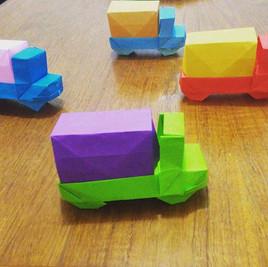 Origami Trucks