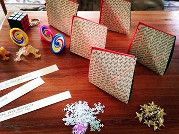 Origami Fox Box Christmas Bon Bons