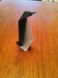 Origami Emperor Penguin