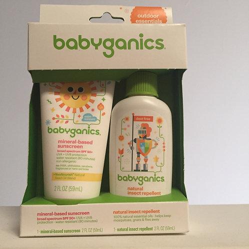 Babyganics sunscreen & bug spray