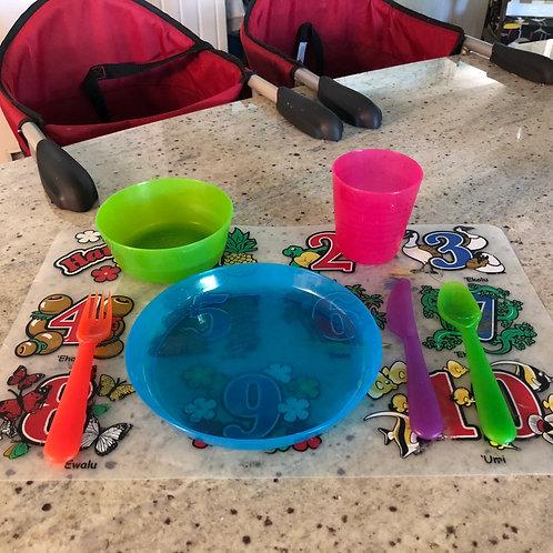 BPA FREE Toddler Dishware Set- Yours to keep!