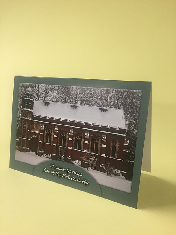 Ridley Hall Christmas Card