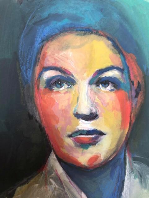 Portrait n°7  Détail