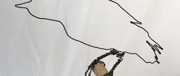 Corbeau 1  Fil de fer recuit 1,2 mm  30 euros