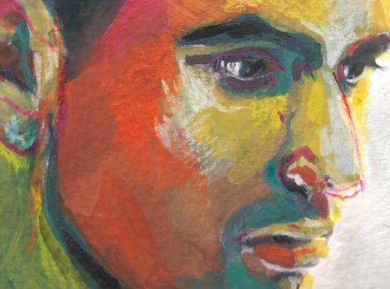 Portrait n°8 Détail