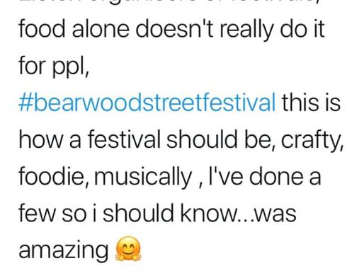 Bearwood Street Festival 2019 Legacy