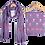 Thumbnail: Purple Colour Unstitched Suit