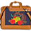 Thumbnail: Hand Embroidered Fruit Laptop Bag
