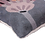 Thumbnail: Grey Colored Floral Cushion Cover