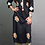 Thumbnail: Black Colored Kurti with Sozni Hand embroidery