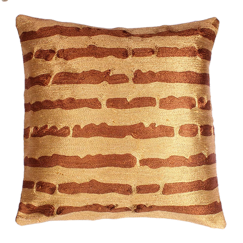 Golden Cushion Cover