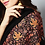 Thumbnail: Black Golden-Chinar Ladies Hand Embroidered Cashmere Pashmina Shawl