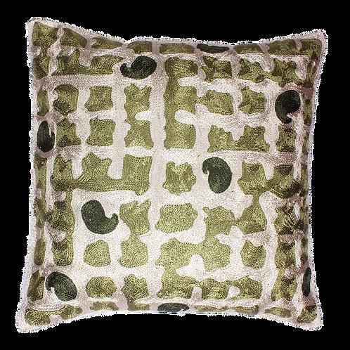 Multicolored Cushion Cover