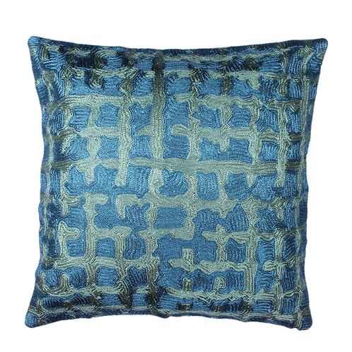 Blue Colored Cushion Cover