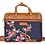 Thumbnail: Hand Embroidered Floral Laptop Bag