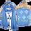 Thumbnail: Blue Color Unstitched Suit
