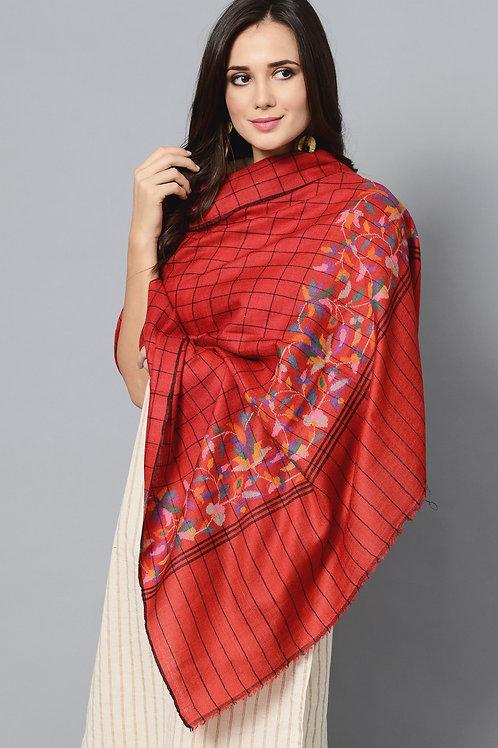 Kani Paldar Handwoven Pashmina Shawl