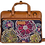 Thumbnail: Hand Embroidered Abstract Laptop Bag