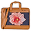 Thumbnail: Hand Embroidered Rose Laptop Bag