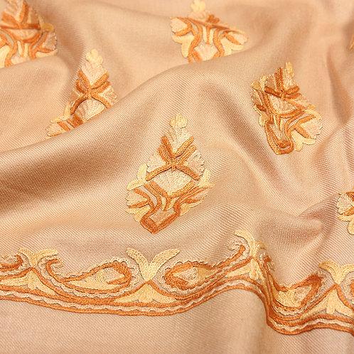 Fawn Colour Unstitched Suit
