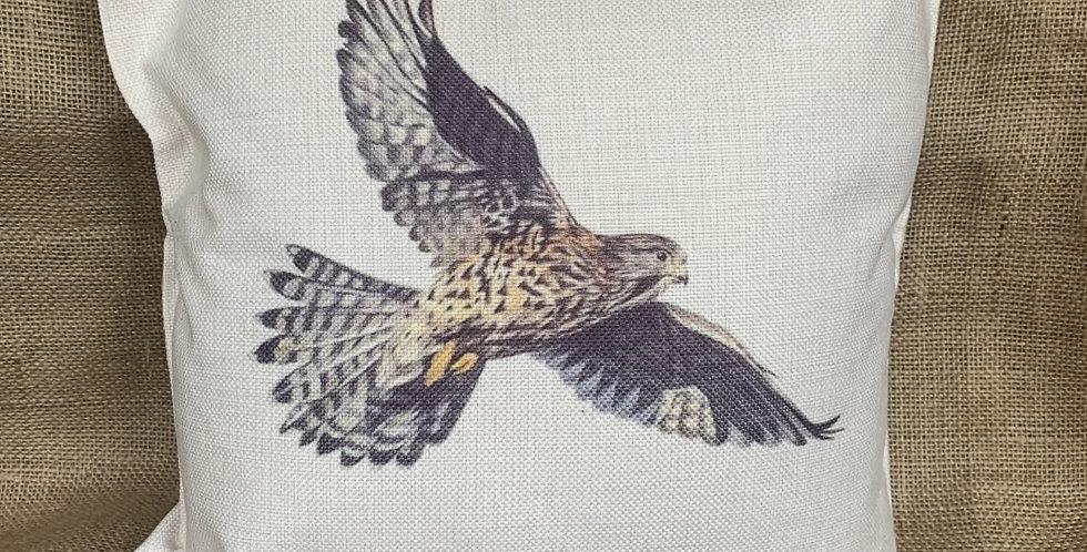 Kestrel in Flight - Cushion