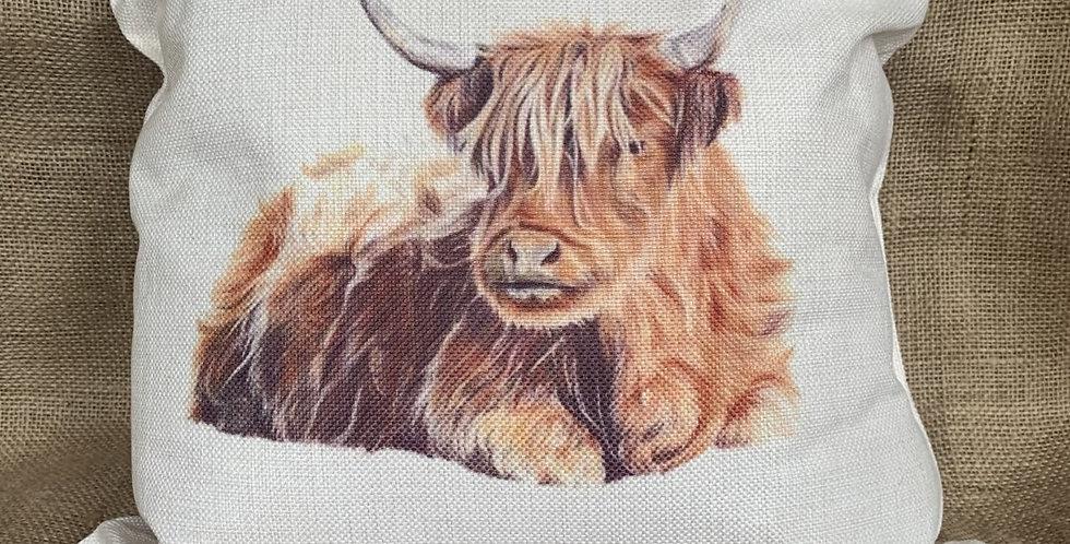 Highland Cow - Cushion