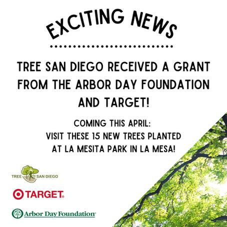March 2021: Tree Planting at La Mesita Park