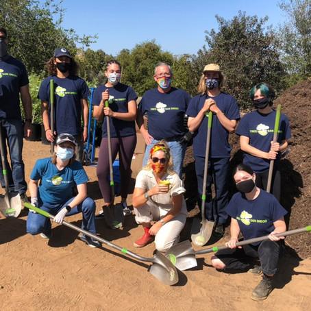 April 2021: Earth Week Tree Planting at Mata'Yuum