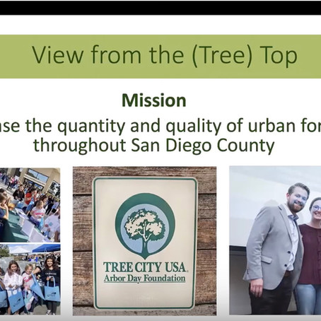 Apr 2020: TreeSD Highlighted at SD Green Drinks
