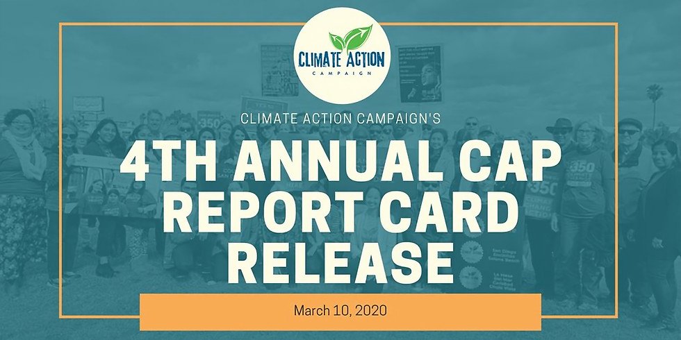 Climate Action Plan Report Card