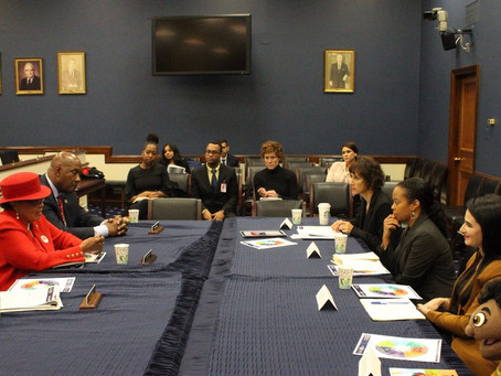 Create& CoFounder, Maia Sciupac, speaks in front of US Congress for Women's Small Business Month